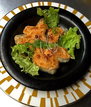 カキの明太マヨ焼き